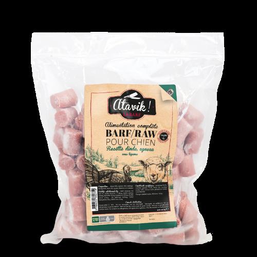 animazoo_boulettes-barf-pour-chien-dinde-agneau-avec-legumes-1kg